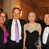 Ann Hickambottom, Michael Williamson, and Cara and Doug Yokomizo
