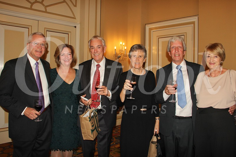 George and Coleen Ball, Martin and Heather Holford, and Steve and Christine Hughes
