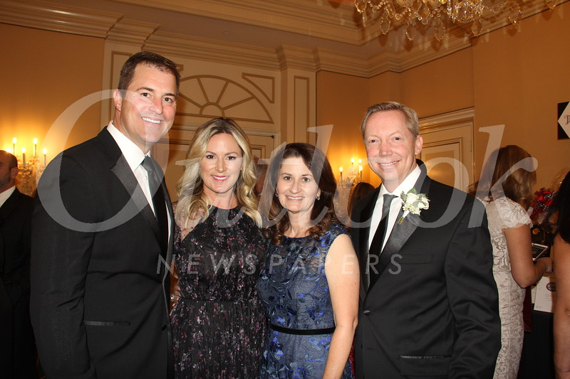 Dan and Heather Timmons with Erin and Scott Olmsted