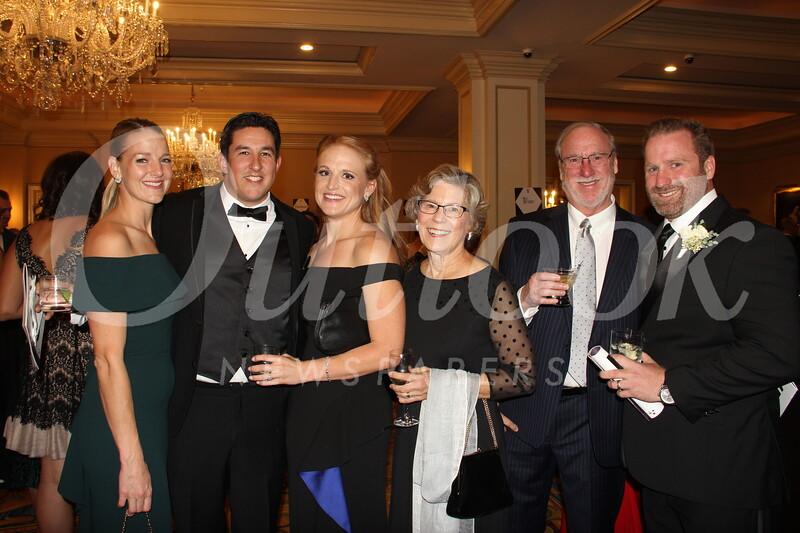 Jennifer and Stephen Abel with Lauren, Barbara, Reid and Scott Delphey