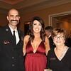 Salim and Brenna Haddad with Diana Sheldon
