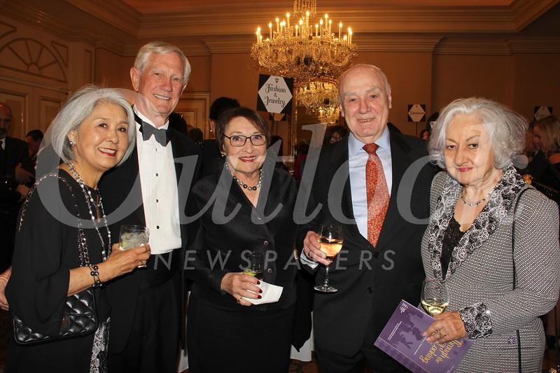 Mitsuko Felton, Dan and Fran Biles, and Ken and Erika Riley