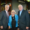 Scott Jenkins with Barbara and Mitch Droger