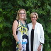 Huntington Hospital CEO Dr. Lori Morgan and Vice President Jane Haderlein