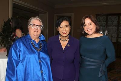 PPPSGV Board Chair Sally De Witt, U.S. Congresswoman Judy Chu, and PPPSGV President and CEO Sheri Bonner