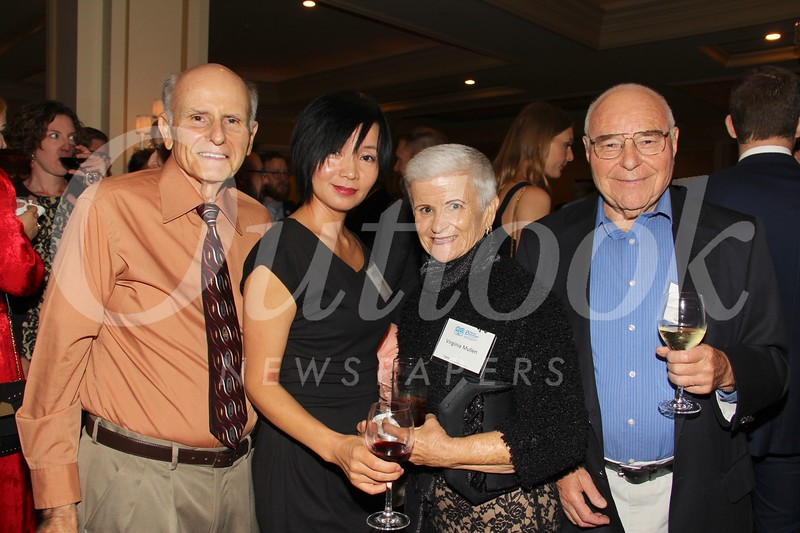 Francisco Alonso, Mandy Riwa, Virginia Mullen and Albert Kirk