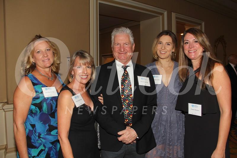 Lisa MacCarley, Amy and Alan Karbelnig, Alison MacCarley and Eileen Stevens