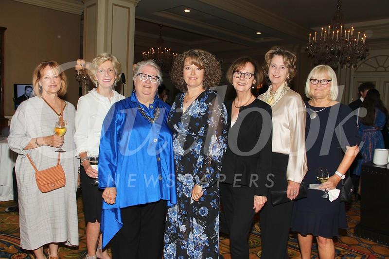 Linda Wallace, Millie Steinbrecher, Sally De Witt, Justene Pierce, Jane Brunette, Corinne Sabaitis and Valerie Casey