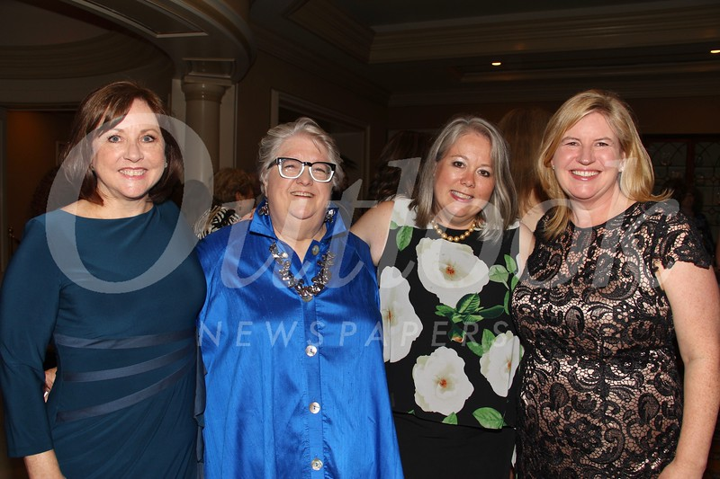 Sheri Bonner, Sally De Witt, and event co-chairs Stephanie Dencik and Stephanie McLemore