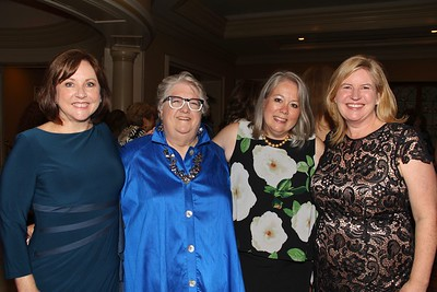 Sheri Bonner, Sally De Witt, and event co-chairs Stephanie Dencik and Stephanie McLemore