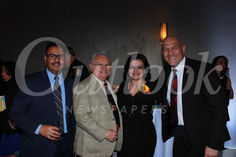 Luis Ramirez, Abel Ramirez, Maggie Shahnazarian and Police Chief John Perez