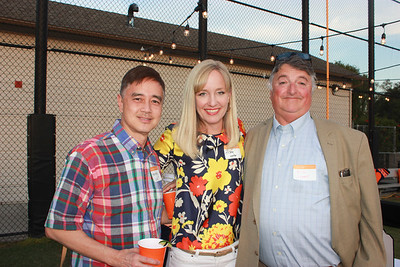 Stanley Liu, Alison Laster and Rick Loomis