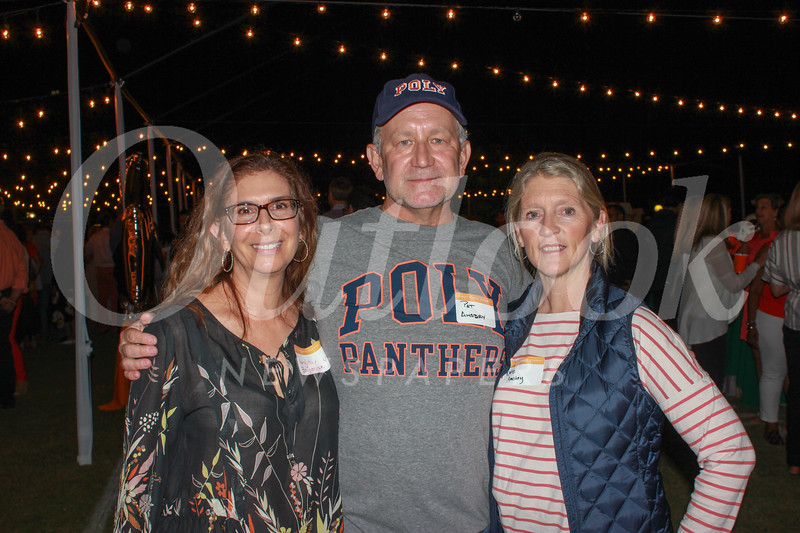 Marylisa Boghosian with Pat and Kate Amsbry
