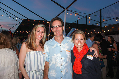Liz Olson with Mike and Ingrid McConnell