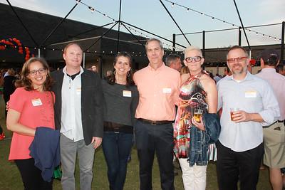 Rachel Countryman, Pat and Kate Gray, John Bracker, and Regitze and Jeppe Ladekarl