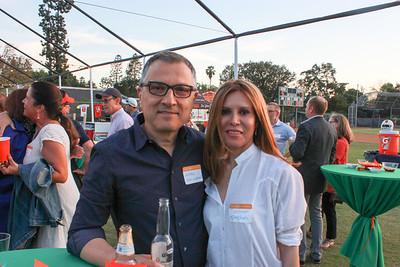 Greg Kalindjian and Roshanak Eftekhari