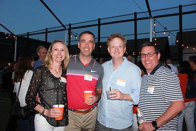 Becky and Eric Chadwick, Scott Bryson and David Mathias