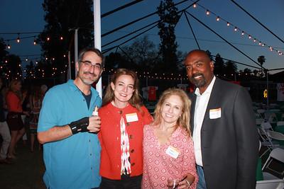Alex and Hope Demetriades, Joanna Gardner and Kevin McFarlane