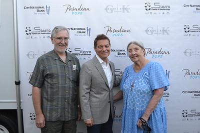Peter Hoffman, Michael Feinstein and Diane Miller