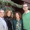 Hank Maarse of Jacob Maarse Florists and wife Ana with home hosts Kimberly and Rob Shepherd