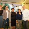 Sophia Sleap, Abraham Flores, Vanessa Vela Lovelace, Proyecto Pastoral Executive Director Cynthia Sanchez and Vince Lawler