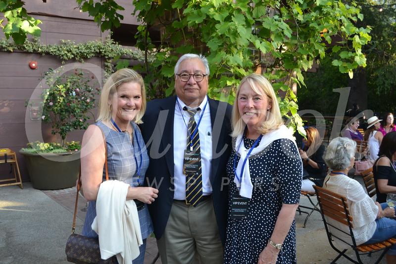 Vicky Botsford with Richard and Cindy Salcido
