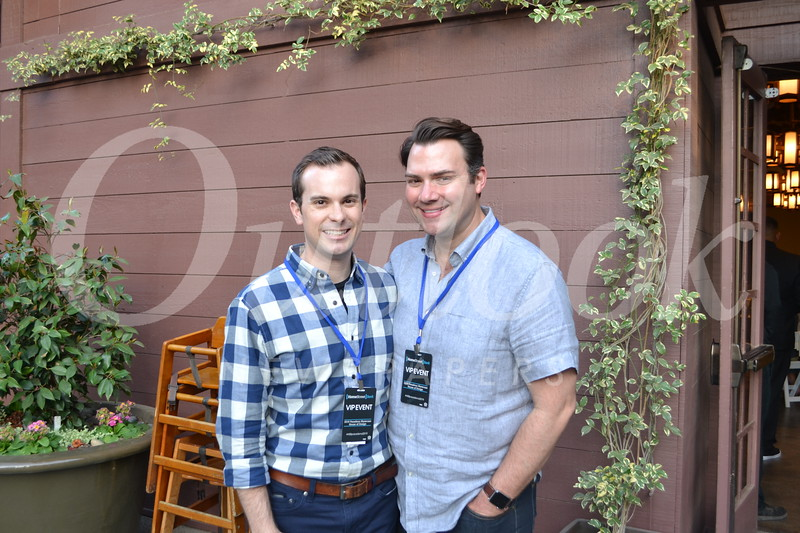 Garrett Collins and Matt McIntyre