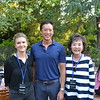 Amy Walker with Brent Chang and Linda Chang
