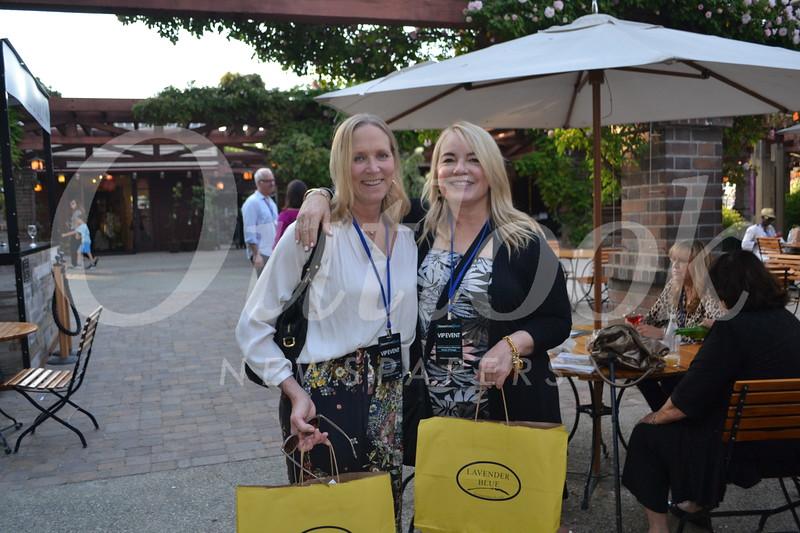 Lisa Leon and Anne Sanborn