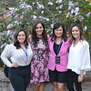 Hope De La Rosa, Hazel Perera, Yennis Wong and Erin Pilavjian