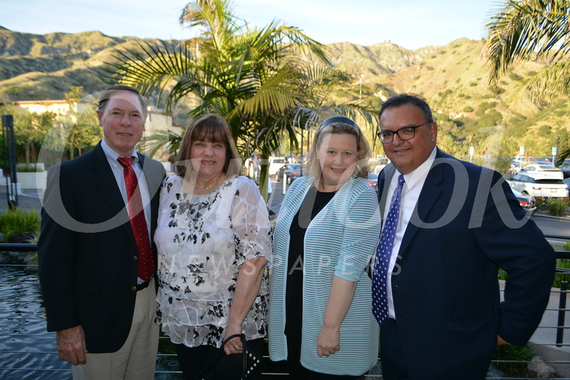 Greg and Lois Hankins with Lisa and Ed Morales