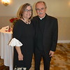 St. Philip Principal Jennifer Ramirez and Father Tony Gomez