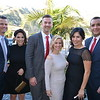 Andrew and Bernie Pittroff, Andrew and Tiffany Ewing, and Elvira and Carlos Ramos