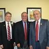 Richard Kale, Mayor Terry Tornek and Emil Fish