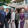 Gerardo and Ruth Loera, Peggy Vaccaro, Blossom Uyeda, Judy Kenyon and Dick Martin