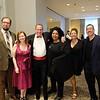 Joshua McGuffie, Jobi Harrell, Head of School Gary Stern and Michelle Stern, and Yvonne and Jaime Mejia