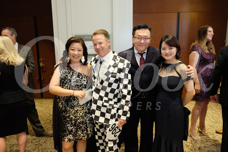 Candace and Eric McMullin with Jeffrey Chen and Li Yang