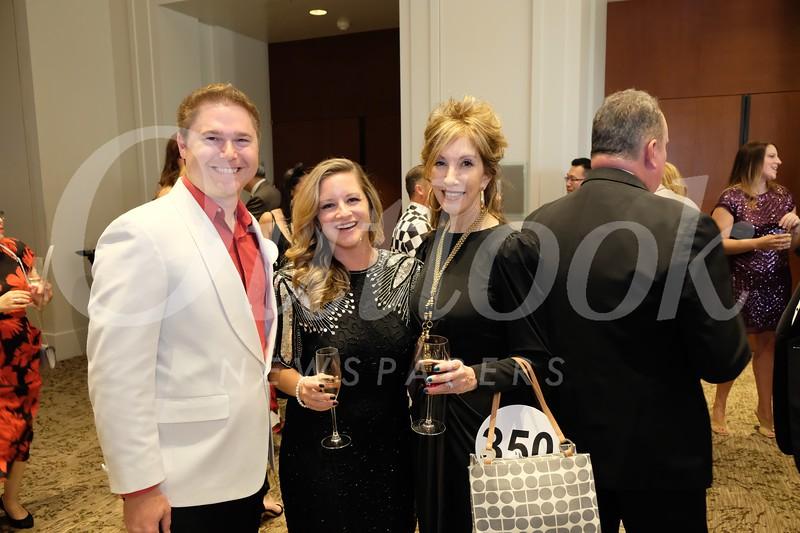 Collin and Rebecka Lievense with Debra Daniels