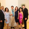 Nimesh and Purvi Patel, Oliver and Jolie Soloman, and Sheryl and Jonathan Brown