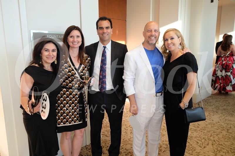 Mojgan Maher, Annmarie and Lance Martinez, and Jim and Cyndi Bonaccorso