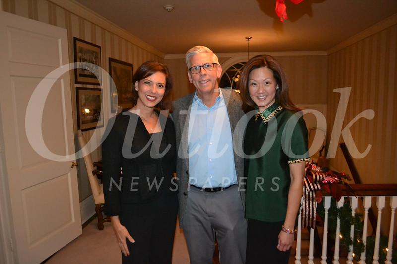 Kathryn Winslow, Doug Carter and Susan Blaisdell