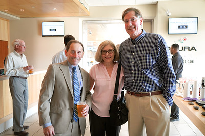 Rob Curtiss with Laurie and Doug Kinsinger