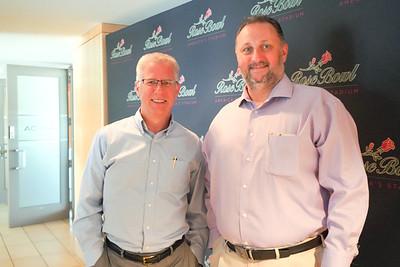 Steve Johnson and Chris Whitaker