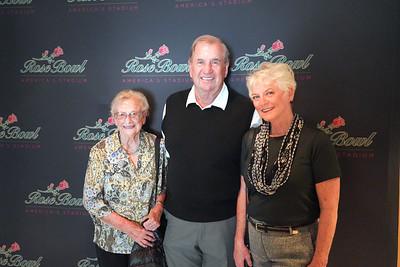 Dee Symonds with Gene and Marilyn Buchanan