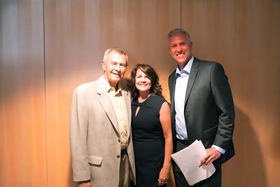 John Gregory, Angie Miller and Wayne Cook