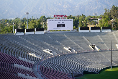 Fritz Miller and SEIA welcome clients to the iconic Rose Bowl
