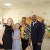 Evelyn Tucker, Linda Booth, Juliette Garrison and Major Osei Stewart