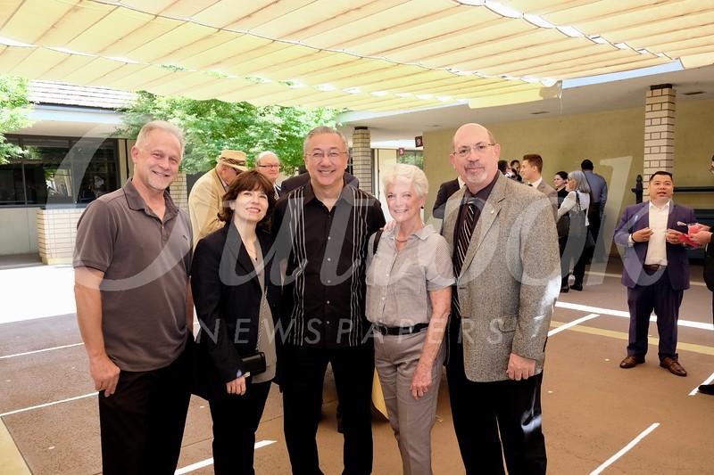 Stephen Smith, Cathy Simms, Ken Joe, Marilyn Buchanan and Howard Raff