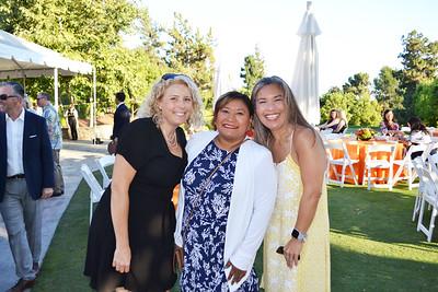 Stephanie Brady, Angela McNight and Karyn Grime