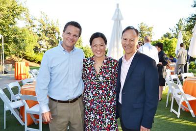 Rick Foker, Susan Blaisdell and Jim Sarni